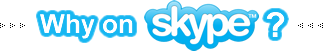 Why learn French on Skype? button